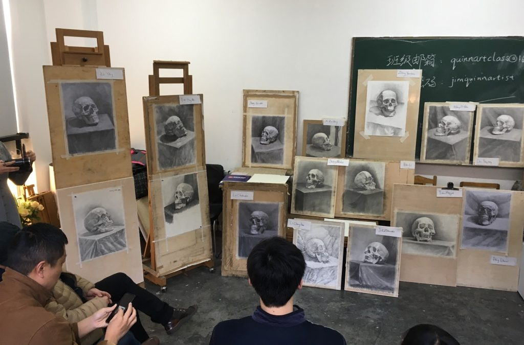 What a long strange trip to have an incredible Chinese art student Critique…….Amazing Stuff!