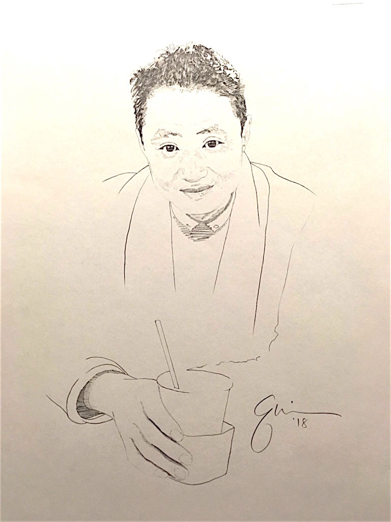Portrait of Fan Yingde