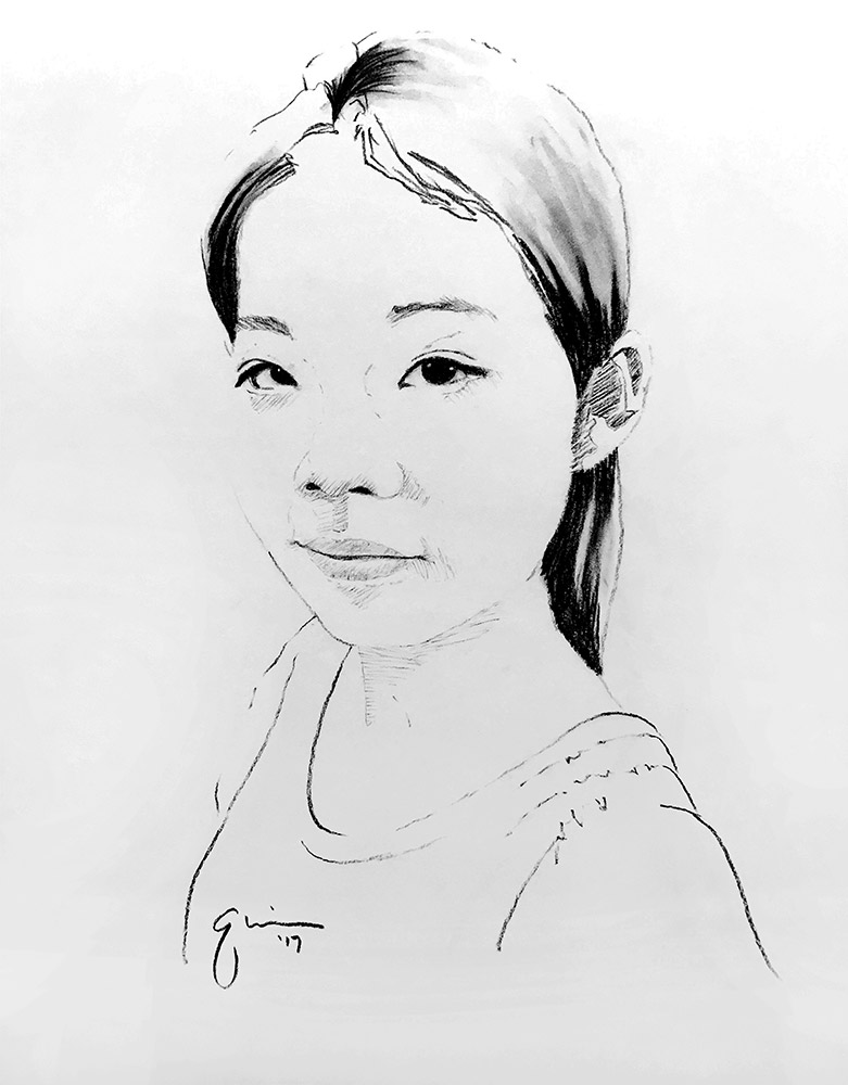 Portrait of Liu Ziyu